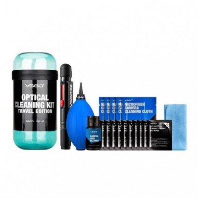 VSGO Travel Cleaning Kit - Blue