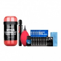 VSGO Travel Cleaning Kit - Red